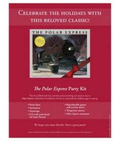 FREE Polar Express Party Kit download!!!