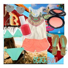 Beach Bum, created by ebn113 on Polyvore