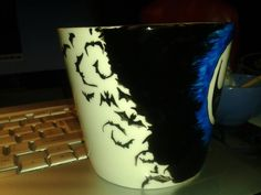 bats I Cup, Bats, Tableware, Handmade, Dinnerware, Hand Made, Tablewares, Dishes, Place Settings