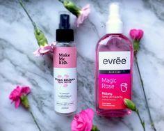 Różana pielęgnacja – woda Make Me BIO i tonik do twarzy Evrée