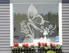 Fensterfolie fenstertattoo fensterdeko 9 schmetterling fensterbild frühling