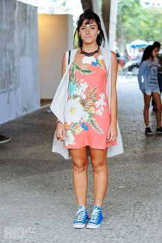 vestido florido  #florais #flowers