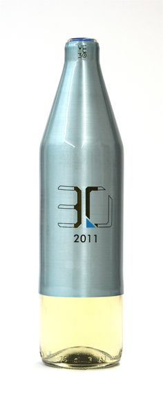 Now this is a different looking wine bottle. PD #WineWednesday #packaging