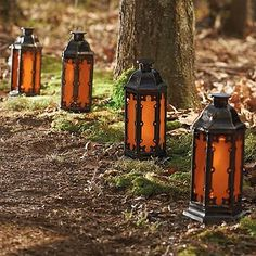 Battery Operated Fire and Ice Lantern