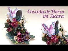 Cascata de Flores em Xícara - YouTube