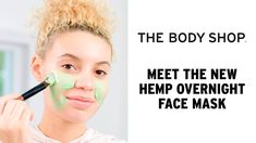 Heard of our Hemp Hand Protector? It's SO good at hydrating dry hands, we decided to expand the range. Meet the new overnight face mask for very dry skin… If. Overnight Face Mask, Glow Mask, Charcoal Mask, Best Face Mask, Dry Hands, Combination Skin, Best Face Products, Facial Masks, The Body Shop