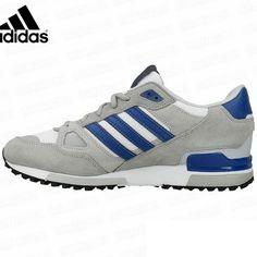 e0de7d695 Men s Adidas Originals ZX 750 Shoes Grey Navy B39988
