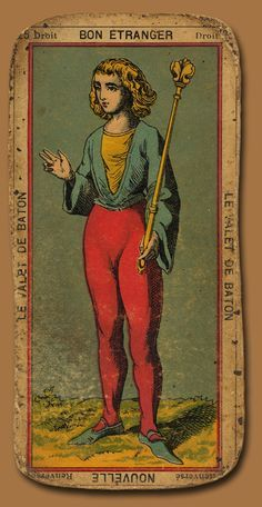 antique tarot cards images - Google Search