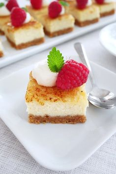 Baking Recipes, Dessert Recipes, Desserts, Baking Ideas, Cherry Chutney Recipes, Creme Brulee Cheesecake Bars, Easy Chocolate Chip Cookies, Yummy Food, Tasty