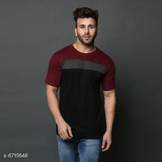 Tshirts Men's  Printed Tshirt Fabric: Cotton Sleeve Length: Short Sleeves Pattern: Printed Multipack: 1 Sizes: XL (Chest Size: 40 in Length Size: 29 in)  L (Chest Size: 38 in Length Size: 28 in)  M (Chest Size: 36 in Length Size: 27 in) Country of Origin: India Sizes Available: M, L, XL   Catalog Rating: ★4.2 (440)  Catalog Name: Comfy Glamorous Men Tshirts CatalogID_1070551 C70-SC1205 Code: 812-6715548-234
