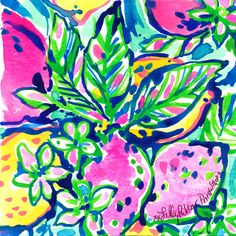 FACT: Lilly's name is hidden in EVERY print - Who can find the Lilly in today's #Lilly5x5?
