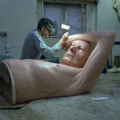Darkbeautymag: Sculptor: Ron Mueck Photographer:Gautier...