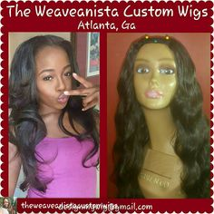 I can help you recreate this Custom U-part wig with 2-3 bundles of hair. My client here loves her unit! DM me for a quick consultation or book your order at styleseat.com/theweaveanista. If you need quality grade 8a hair, I can provide a bundle deal for you! #weaveanistacustomwigs #keepemguessing #stayready #custommadeupartwig #upartwig #rawindianhair #indianhair #wigdesigner #atlwigmaker #atlanta #fairburnga #mariettaga #douglasvillega