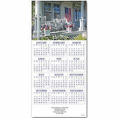 Heart of America Z-fold Calendar | Patriotic Christmas Cards | Deluxe.com