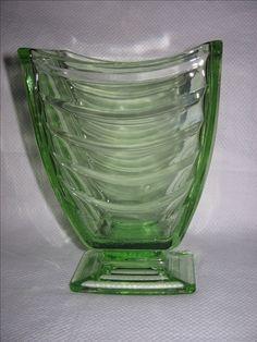 Sowerby vase pattern 2617 Pressed Glass, Pedestal, Glass Vase, Stones, Gems, Pattern, Beautiful, Decor, Rocks