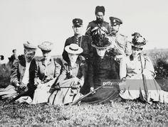 News Photo : Family of Czar Nicholas II of Russia : Front,... Maria Feodorovna, Grand Duchess Olga, Grand Duke, Still Image, Russia, Lost, Royals, 1950s, Empire