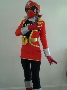 Tv Series: Power Rangers. Character: Gokai Red. Cosplayer: Teeny Foxx. Event: Katsucon 2013.