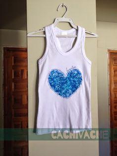 92aba63ec983c DIY para personalizar camisetas con ceras de colores