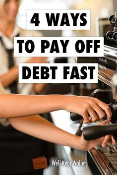 Being in #debt is no fun at all! However, if you put your mind to it, you should be able to pay it off reasonably quick with these strategies!