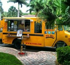 PS561 food truck...the school bus/food truck idea really works for me.