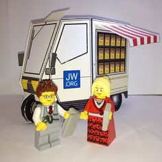 @sezzacrnls did a fantastic job building the #jworg witnessing car and added some #jwlego people as the final touch! Thanks for sharing!