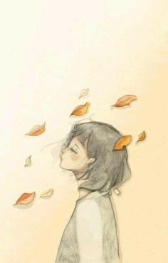 So sad. not me painting Art And Illustration, Illustrations, Girl Watercolor, Art Sketches, Art Drawings, Art Anime, Art Design, Graphic, Art Inspo