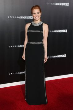 Jessica Chastain Rules the Red Carpet - Jessica Chastain-Wmag