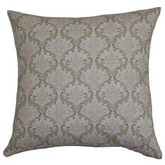 "The Pillow Collection Paulomi Cotton Throw Pillow Color: Cozy / Bella, Size: 24"" x 24"""