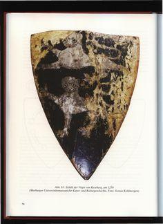 Schild der Vogte von Keseberg, um 1250 (Marburger Universitatsmuseum fur Kunst- und Kulturgeschite, Foto: Svenia Kohlmorgen)