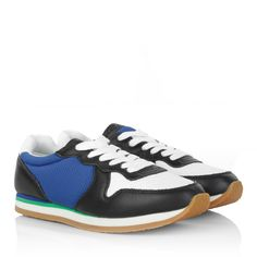 awesome See By Chloé Sneakers - Sneakers Blue/White - in blau, bunt - Sneakers für Damen http://portal-deluxe.com/produkt/see-by-chloe-sneakers-sneakers-bluewhite-in-blau-bunt-sneakers-fuer-damen/  74.50