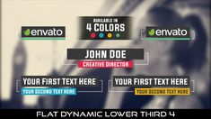 Buy Flat Dynamic Lower Third 4 by MondayMotion on VideoHive. Lower Thirds, After Effects Projects, Love You, My Love, Creative Director, Caption, Cool Kids, Presentation, Blue Yellow