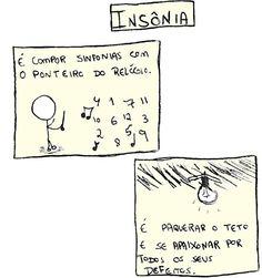 Insônia é...