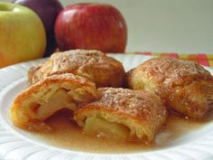 Country Crescent Apple Dumplings are so tender and delicious, you won't believe how easy they are to make. A tube of crescent rolls are what makes this apple dessert recipe so simple.