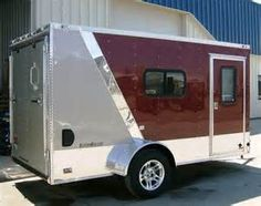 ... trailer enclosed trailer ideas trailer tramp enclosed cargo trailers