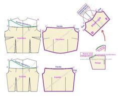 Como hacer una blusa campesina para niña - Imagui