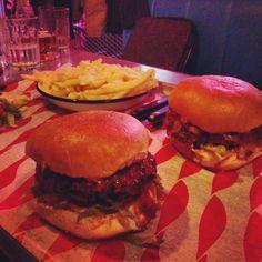 Dirty burger @MEATliquorBTN