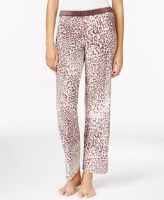 Alfani Printed Knit Pajama Pants