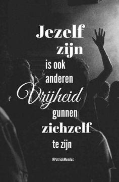 #jezelf #zijn #vrijheid