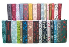 Set of 30 Penguin Classics With Decorative Covers