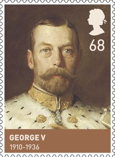 House of Windsor.                          Issued Feb 2012.                                George V.                                               1910-1936