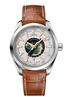 Omega's First World Timer: Introducing the Seamaster Aqua Terra Worldtimer Master Chronometer