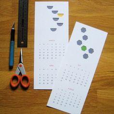 papercut calendar