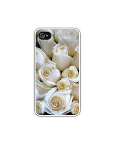 Ivory Rose Bouquet Cell Phone Case Bridal by LovesParisStudio, $35.00