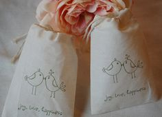 Muslin Cotton Gift Bags