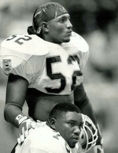 Ray Lewis and Warren Sapp