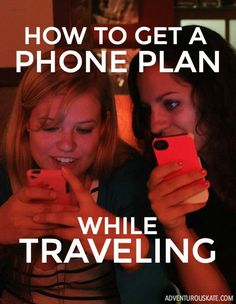 Helpful tips for using a cell phone overseas and what type of phone plan to get while traveling.
