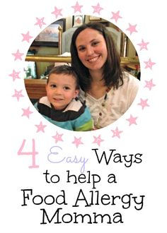 simple tips for helping moms of kids with food allergies