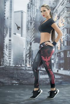 Dark Phoenix - X-Men - Super Hero Leggings - Fiber - Roni Taylor Fit  - 3 These Dark Phoenix Super Hero Leggings from Fiber are great for working out, casual wear or even dressing up for Halloween. You will love these exclusive leggings that are made from