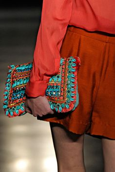 bright and beautiful...wanting the clutch