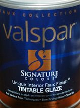 Tinting windows and glass with tintable wall glaze... comes off easily if you want to remove.